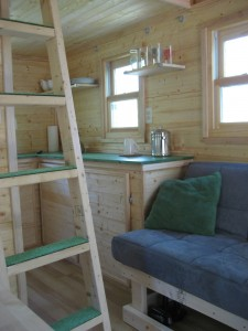 Inside Laura's Tiny House